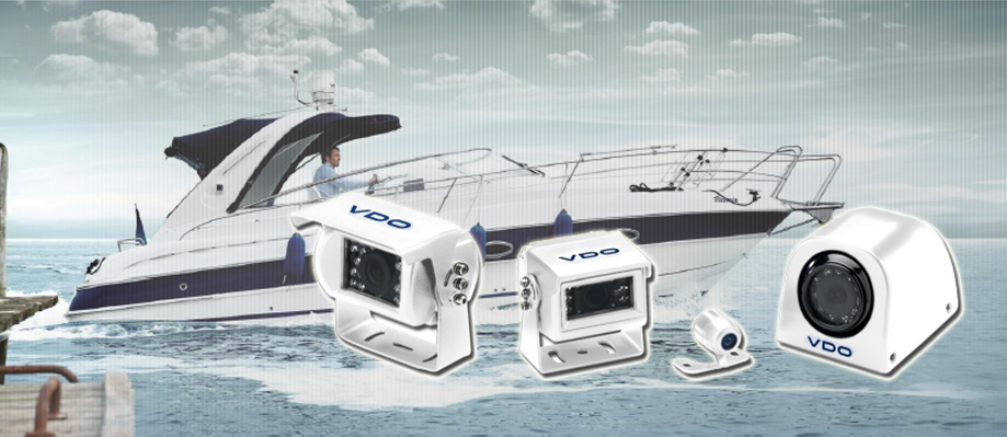 VDO Camera System available in white for sale from Gauges for Boats